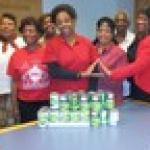 Sorors Donate to the Community Thanksgiving Dinner Nov 19, 2016